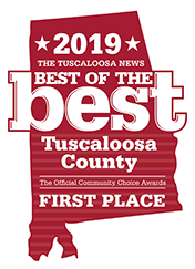 2019 Best of the Best Tuscaloosa First Place